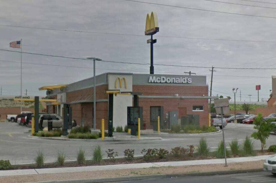 The driver then pulled over into the McDonald's on San Bernardo Ave. Officers approached the vehicle, but the driver refused to exit, according to police. Photo: Google Maps/Street View