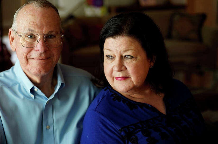 Rodney and Laura Vickers in their Houston home. The two fostered their daughter's infant son after their son-in-law was accused of shaking him. Photo: Elizabeth Conley/Staff Photographer / ? 2018 Houston Chronicle