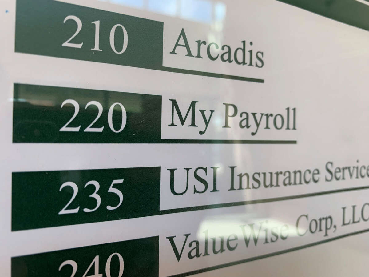 Knocks on the door of the company's Clifton Park Boulevard office went unanswered last month. MyPayrollHR's sign had been removed from the wall and business cards advertising a different payroll business had been placed in front of the door.