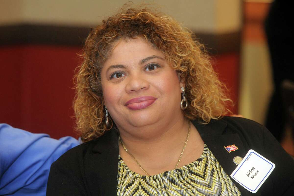 Bridgeport City Council President Aidee Nieves, May 17, 2019.