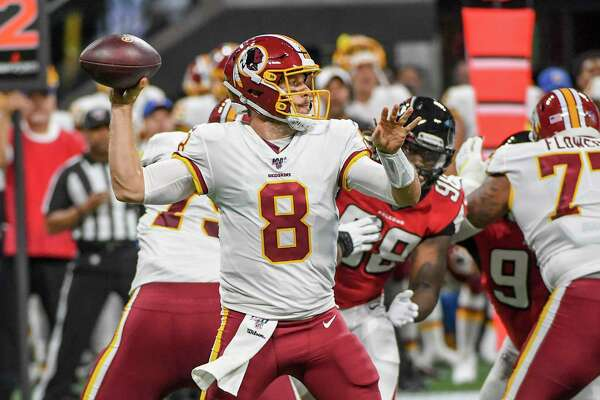 Case Keenum will be the Week 1 starter at quarterback for the Redskins. MUST CREDIT: Washington Post photo by Jonathan Newton