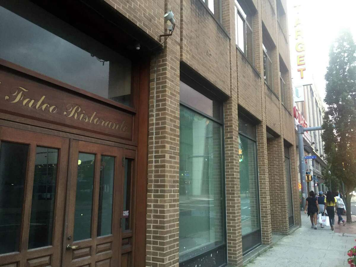 The building at 59 Broad St., in downtown Stamford, Conn., has stood vacant for several years.