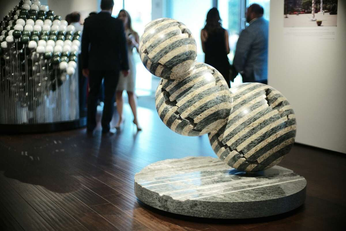 The works of master sculptor Park Eun Sun are on display at the Art of the World gallery in River Oaks now through October 5.