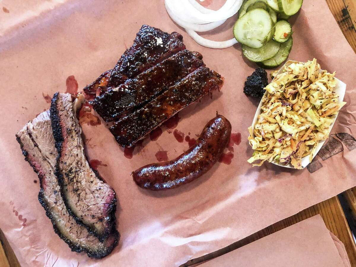 The craft barbecue movement has mostly done away with the meat market connection, other than serving the meat on butcher paper and introducing fancier, house-made pickles.