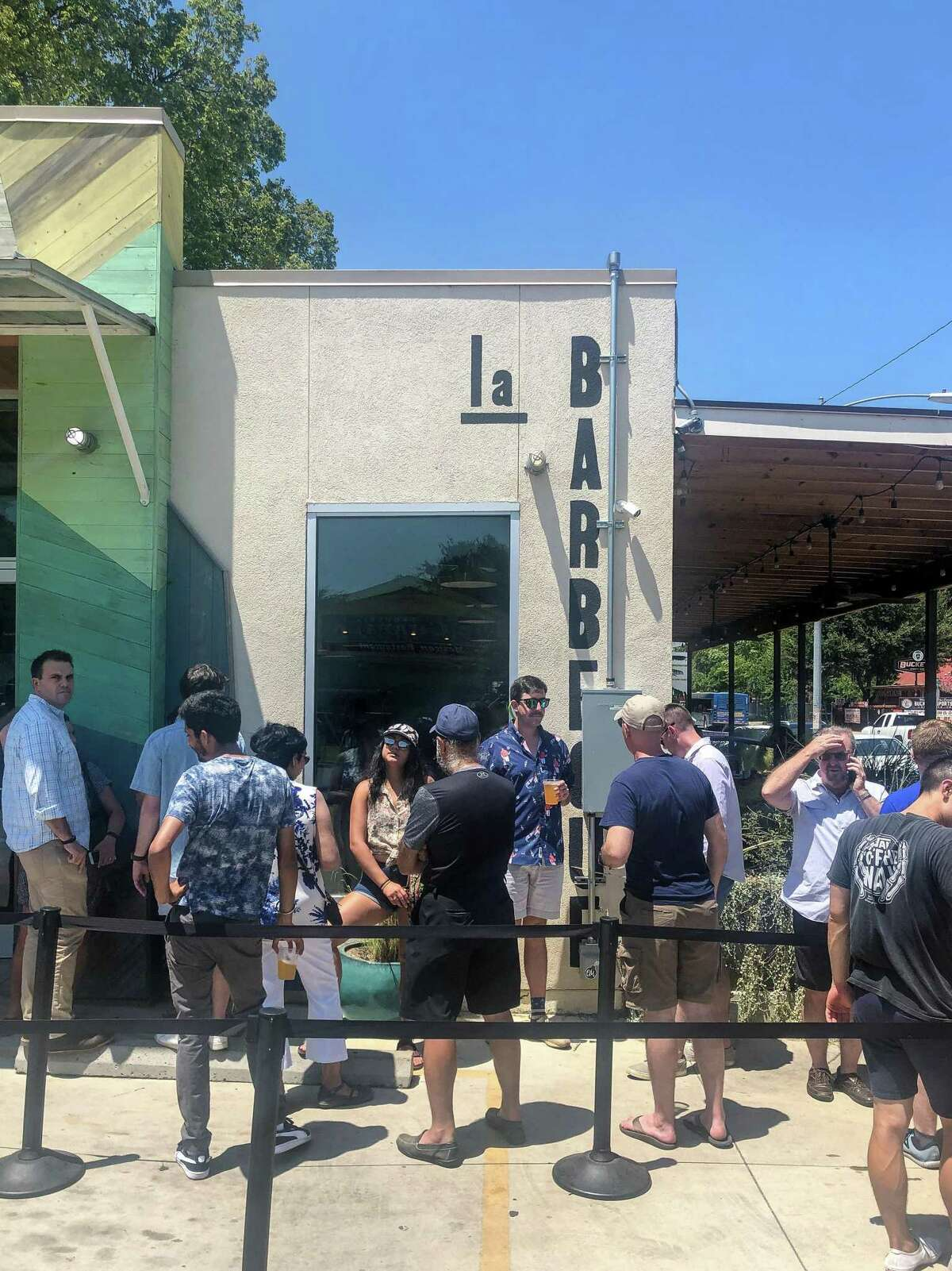 La Barbecue at Quickie Pickie in Austin offers a modern take on the meat-market tradition.