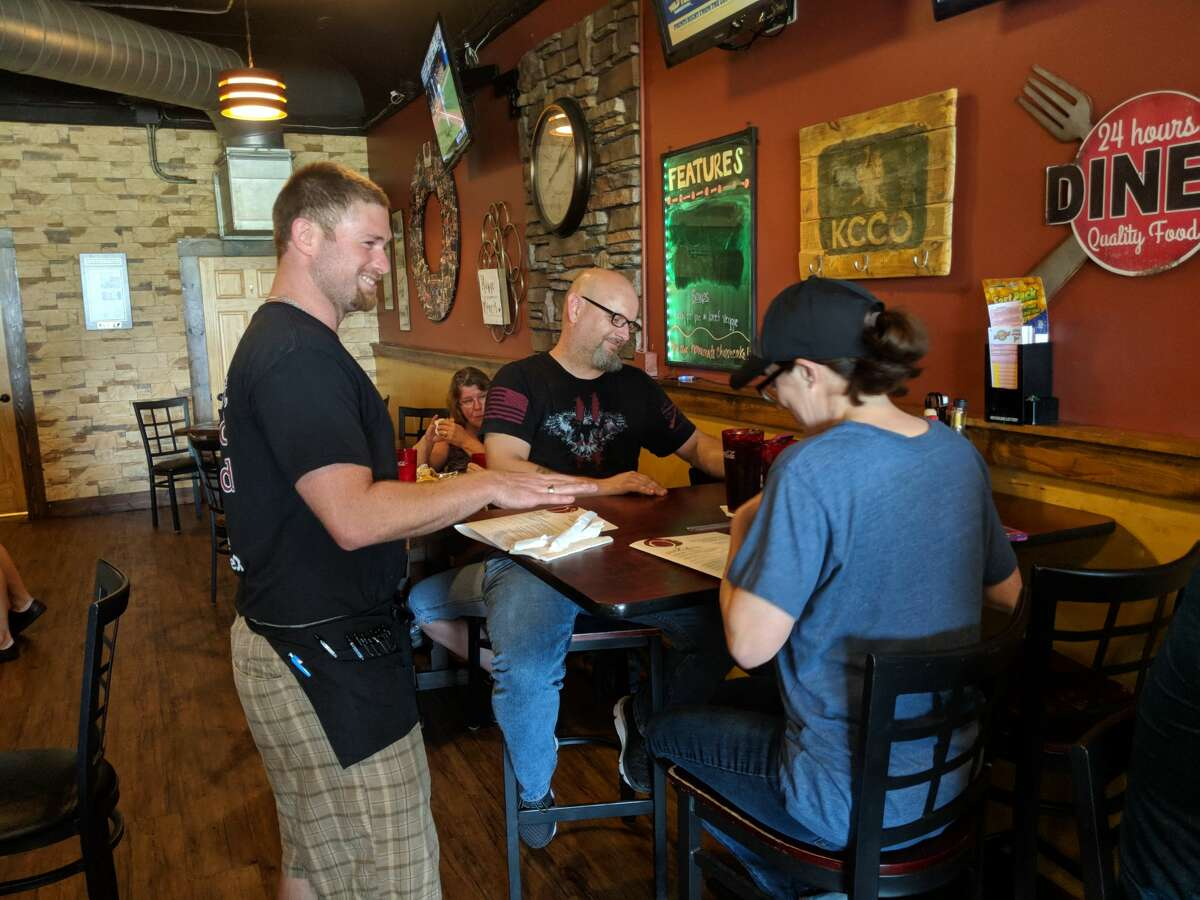 Readers named O's Pub & Grill the restaurant with the most friendly service. There were ties for second and third, between Shirlene's Cuisine and M's Café, and Lanny's Restaurant and Lasko's restaurant, respectively. (Tereasa Nims/For the Daily News)
