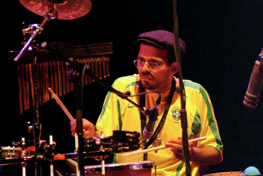Singer, percussionist and songwriter Nanny Assis will be performing with his trio for the opening show of White Plains' JazzFest 2019 on September 11. Photo: C Brandon / Redferns / Redferns