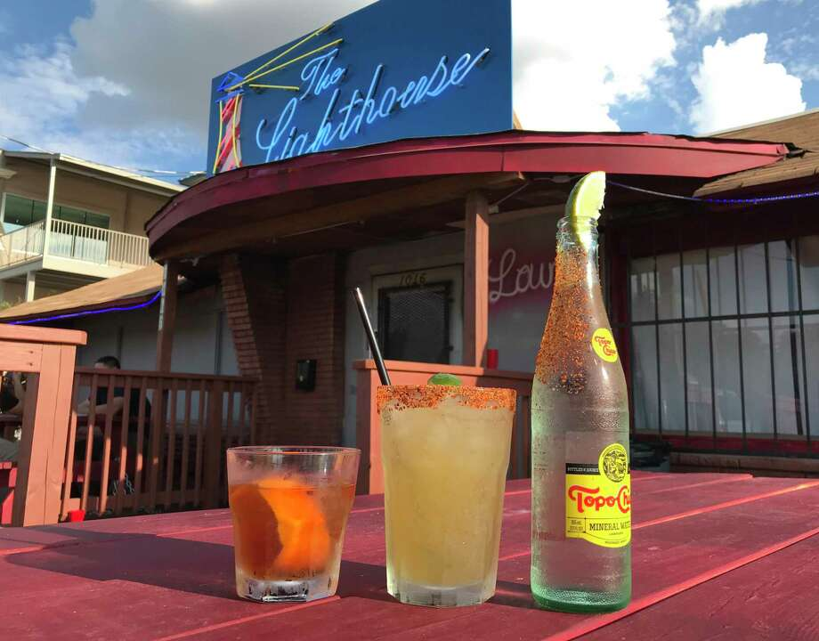 The Lighthouse Lounge is located at 1016 Cincinnati Ave. near Woodlawn Lake. Photo: Paul Stephen / Staff