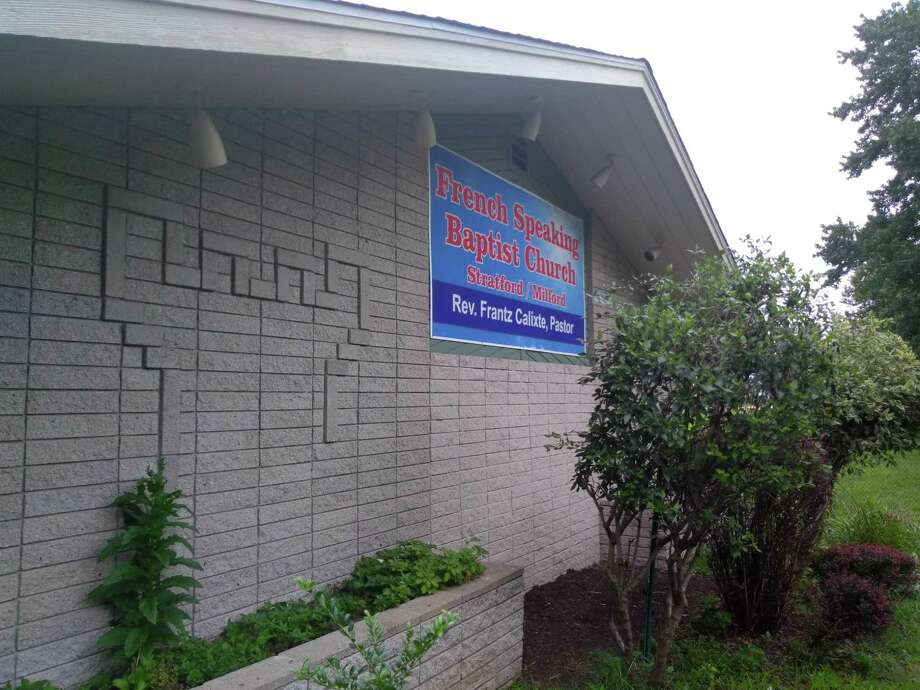 The French Speaking Baptist Church of Stratford is now located in the former Jehovah's Witnesses Kingdom Hall at 494 Milford Point Road. Photo: Jill Dion / Hearst Connecticut Media