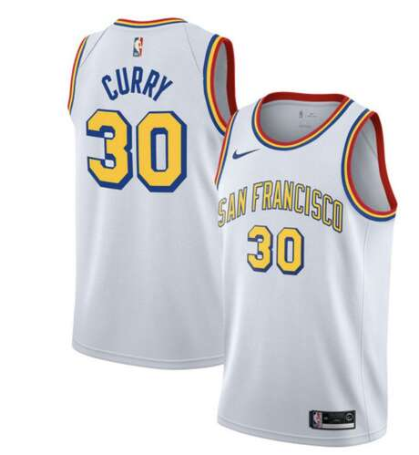 The above Warriors jersey quietly went up for sale on the NBA Store's EU site this week. Photo: Courtesy Of NBA Store