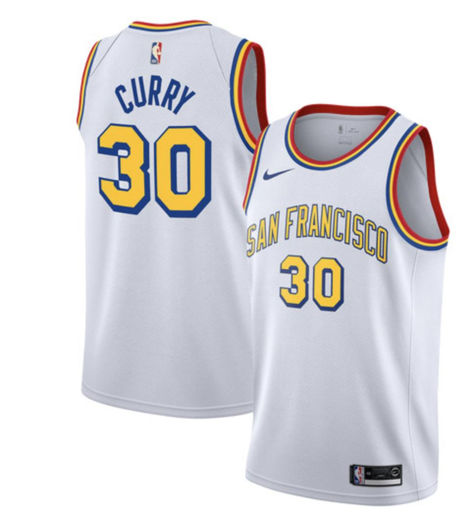 huge selection of d2fb3 3477e Mysterious Warriors alternate jersey goes live on the NBA ...