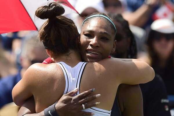 It's Serena versus a great admirer in U.S. Open final