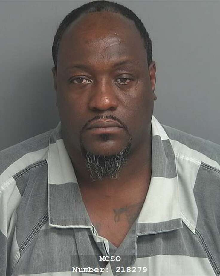 Shannon Douglas Williams, 47, of Conroe, on Aug. 27 was found guilty by a jury for possession of a controlled substance with the intent to deliver and use of a deadly weapon during the commission of the offense. Photo: Courtesy Of The Montgomery County District Attorney's Office