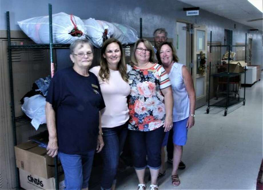 State Rep. Monica Bristow, D-Alton, and state Sen. Rachelle Crowe, D-Glen Carbon, recently donated clothing to the Community Hope Center in Cottage Hills and met with staff for a tour of the organization to learn more about their mission to provide help for those in need in the community.