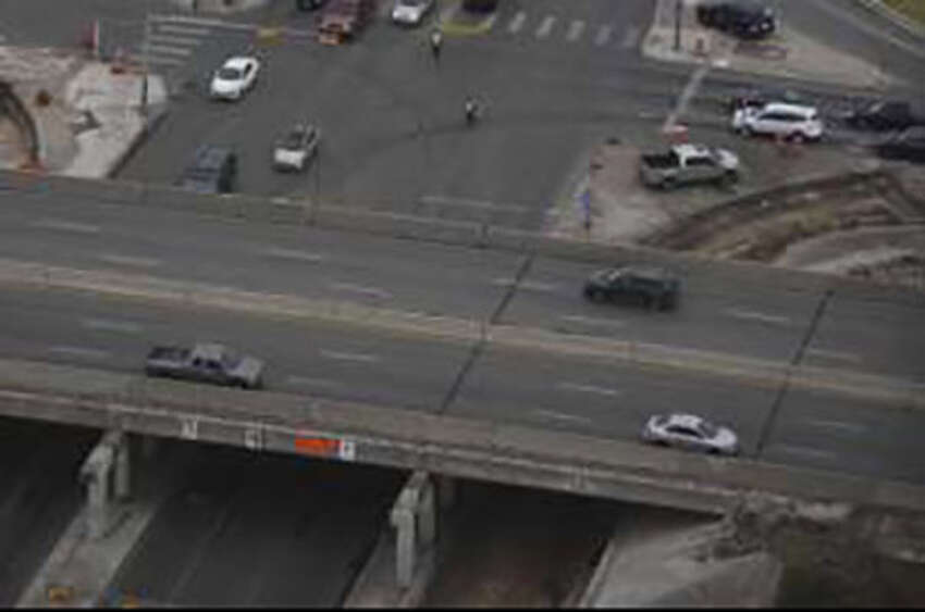 The old Marbach Road bridge at Loop 410 will be dismantled beginning 8 p.m. Friday Sept. 6, 2019.