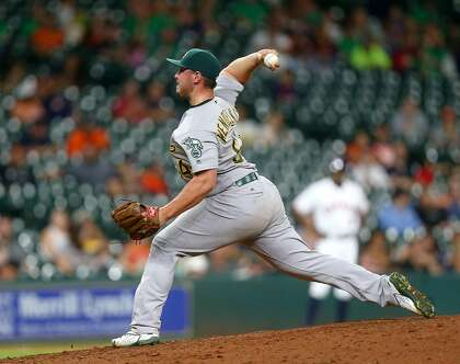 A's call up J.B. Wendelken with Yusmeiro Petit away, Blake Treinen dealing with back issue