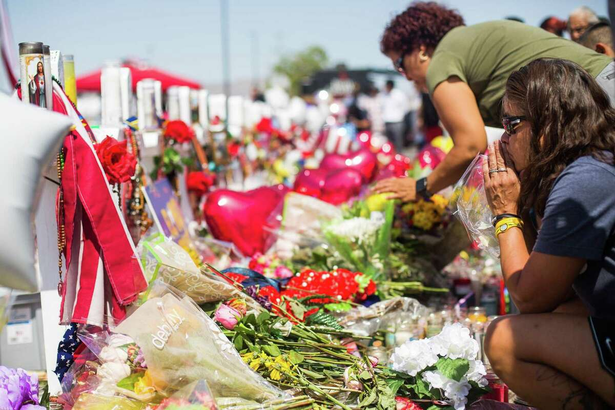 Mourners in El Paso after the massacre there. We live at a time when a rapid popping sound could be firecrackers, a fire, or even a shooting. The best we can do is have a plan for the unexpected.
