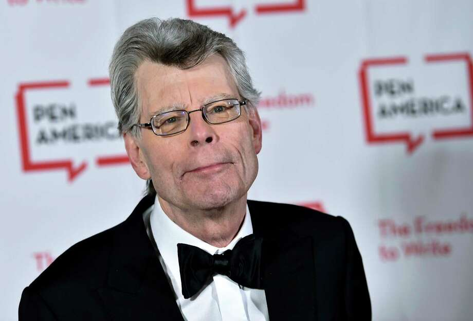 "FILE - In this May 22, 2018 file photo, author Stephen King attends the 2018 PEN Literary Gala at the American Museum of Natural History in New York. The film ""It: Chapter Two,"" is based on King's book. (Photo by Evan Agostini/Invision/AP, File) Photo: Evan Agostini / 2018 Invision"
