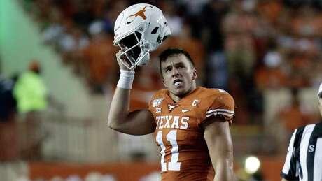 Texas quarterback Sam Ehlinger threw for four touchdowns against Louisiana Tech. He is to do the same versus LSU.