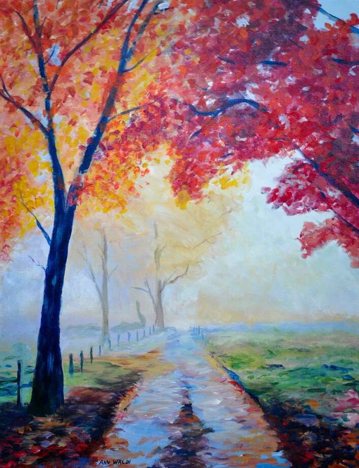 """Autumn Mist"" acrylic by Ann Walsh. Photo: Contributed Photo"