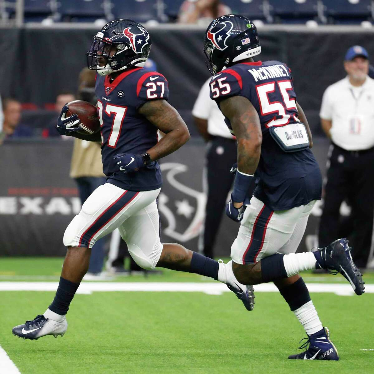 The Texans' loss has become Duke Johnson's gain as he becomes the featured back with Lamar Miller out.