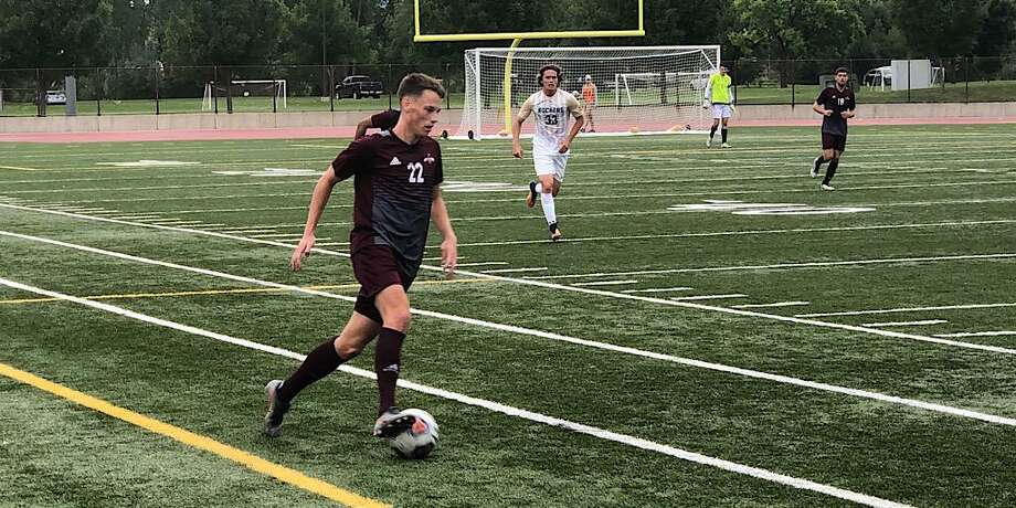 Ruben Nielsen scored twice in the first half Friday lifting TAMIU to a 2-1 win on the road over the South Dakota School of Mines in its season opener. Photo: Courtesy Of TAMIU Athletics