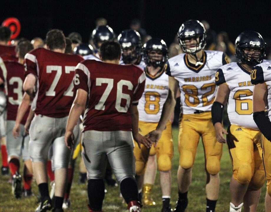 North Huron earned its second victory of 2019 with a 36-0 forfeit win over Owendale-Gagetown Friday night. Photo: Mark Birdsall/Huron Daily Tribune
