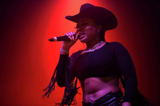 Megan Thee Stallion performs at Revention Music Center in Downtown Houston on Friday, September 6, 2019