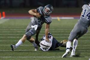 Boerne Champion QB Luke Boyers led the Chargers to a victory over Veterans Memorial on Friday.