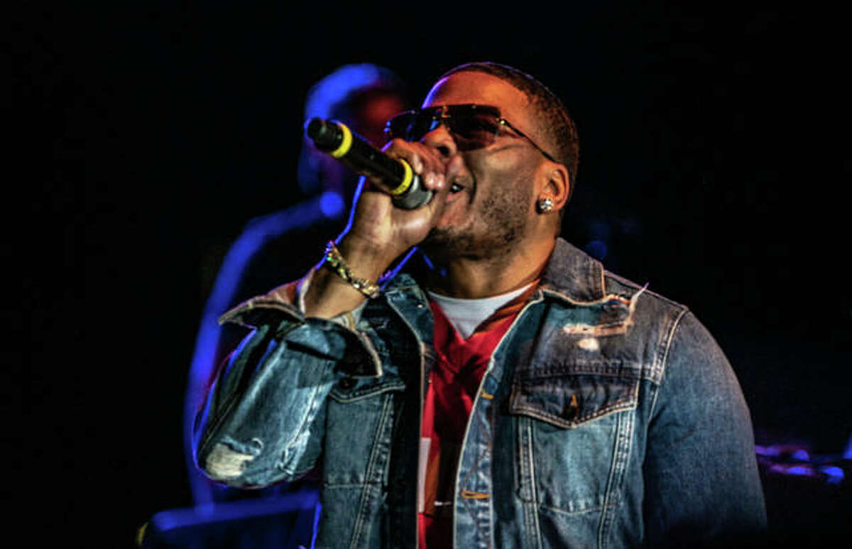 Rapper Cornell Iral Haynes Jr., known as Nelly, was videotaped at the casino yelling at another individual playing poker.