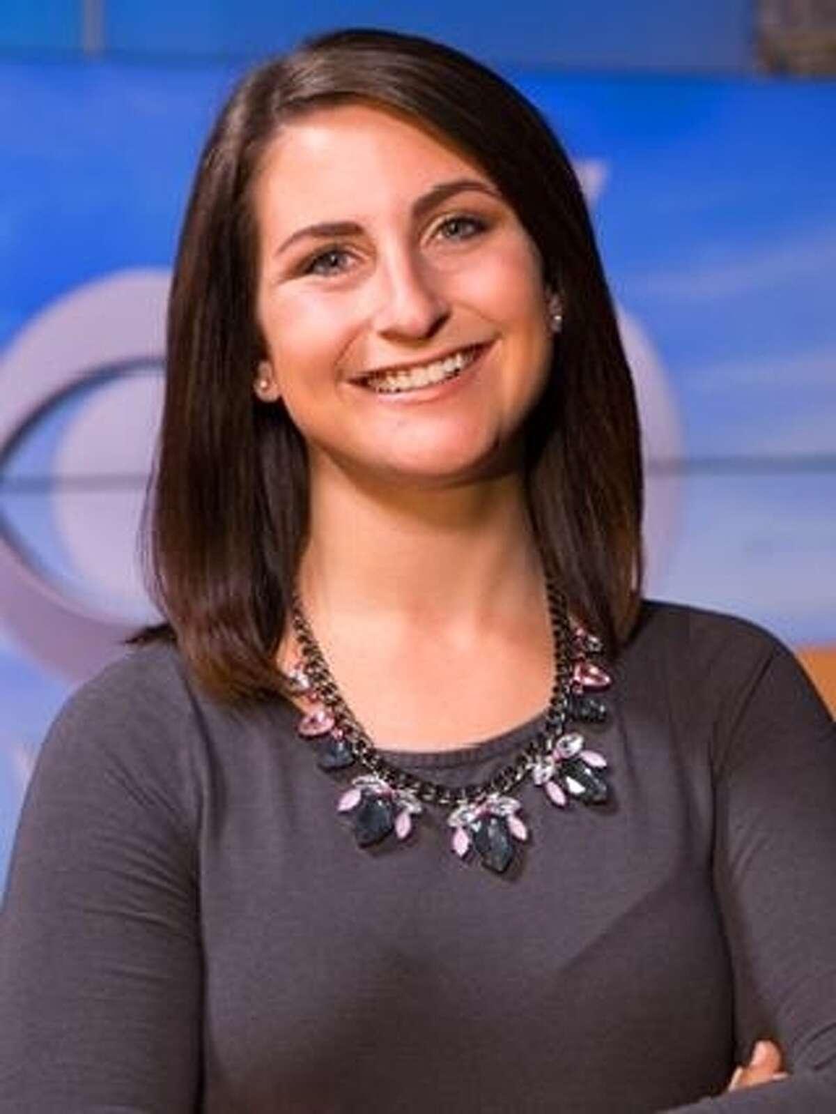 Former WRGB reporter Lynzi DeLucchia.