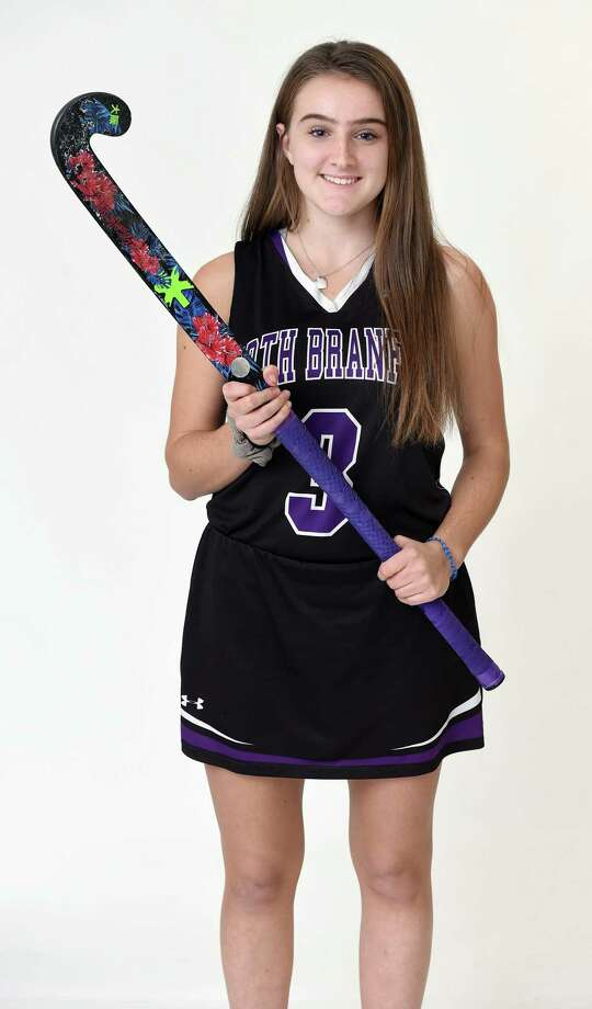 North Branford's Ava Galdenzi scored the game-winning goal in a 1-0 win over Westbrook last week. Photo: Arnold Gold / Hearst Connecticut Media / New Haven Register