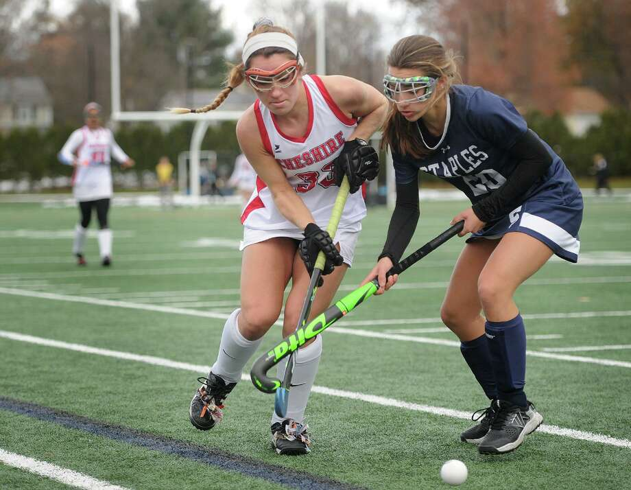 Cheshire defender Olivia Salamone, left, has been a key ingredient to the Rams recent success. Photo: Brian A. Pounds / Hearst Connecticut Media / Connecticut Post