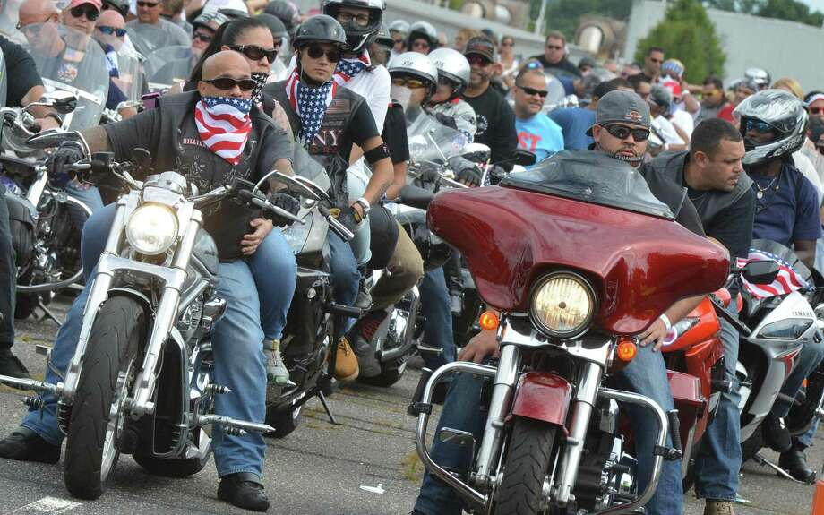The CT United Ride, Connecticut's largest 9/11 tribute, will pass through Wilton on Sunday, Sept. 8. Traffic along Westport Road (Route 33) and Route 7 will be affected from the intersection of Westport Road and School Street (Route 107) in Georgetown from about 11:45 a.m. to 12:30 p.m. Photo: Alex Von Kleydorff / Hearst Connecticut Media / Connecticut Post