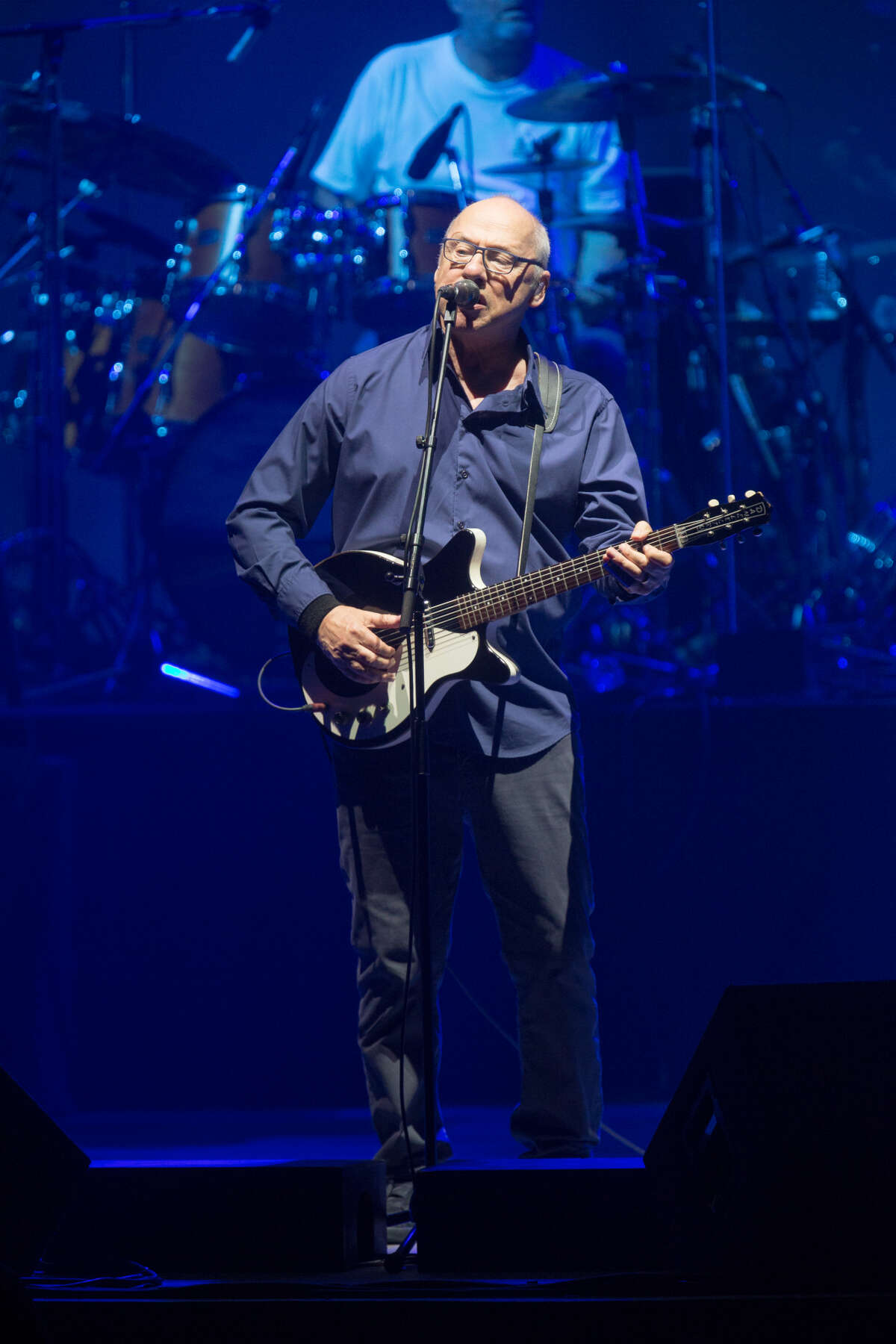 Mark Knopfler at the Smart Financial Centre in Sugar Land on Sept. 6, 2019. Photo by David W. Clements.