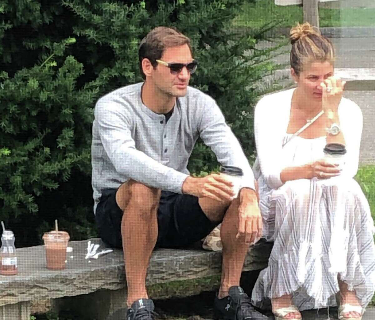 Roger Federer and family enjoy coffee in Riverside Greenwich is no stranger to celebrities, but the sighting of a tennis pro having coffee was the talk of the town in September. Tennis star Roger Federer, his wife, Mirka, and their children were seen enjoying coffee at Ada's Kitchen + Coffee in Riverside. The eight-time Wimbledon champion and his family are renting a house on the water in Riverside. Read more.