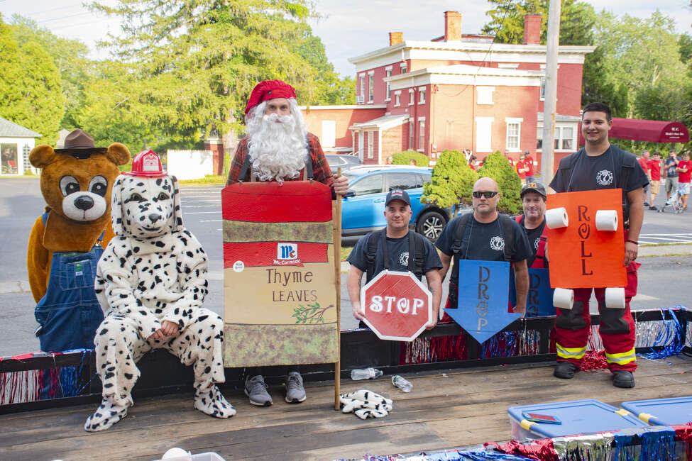 Greene County Volunteer Firemans Convention parade on Friday Sept. 6, 2019.