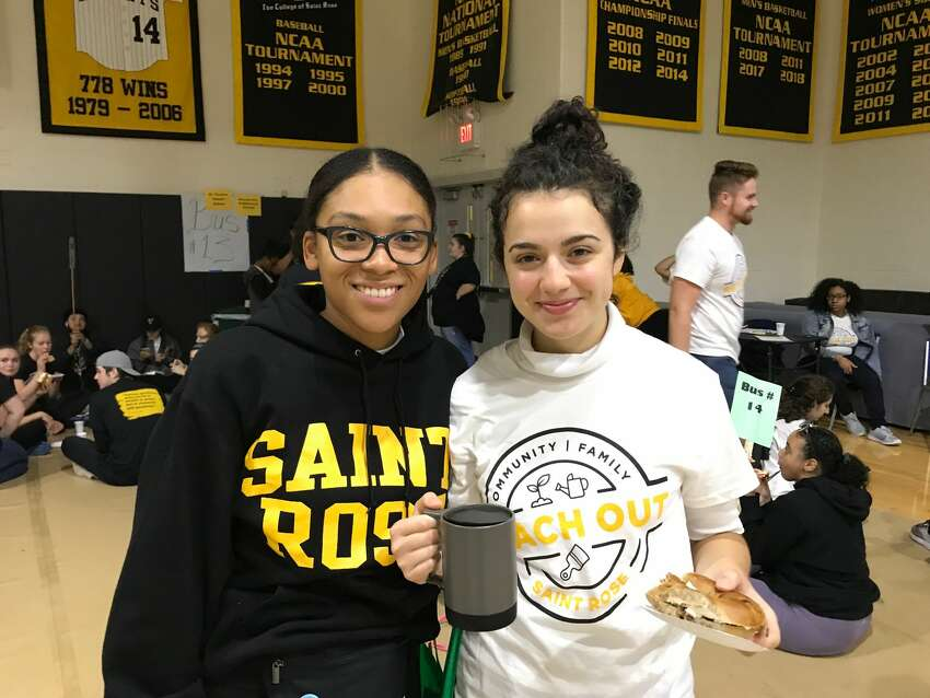 Were you Seen volunteering around the Capital Region during Reach Out Saint Rose on Sept. 7, 2019?