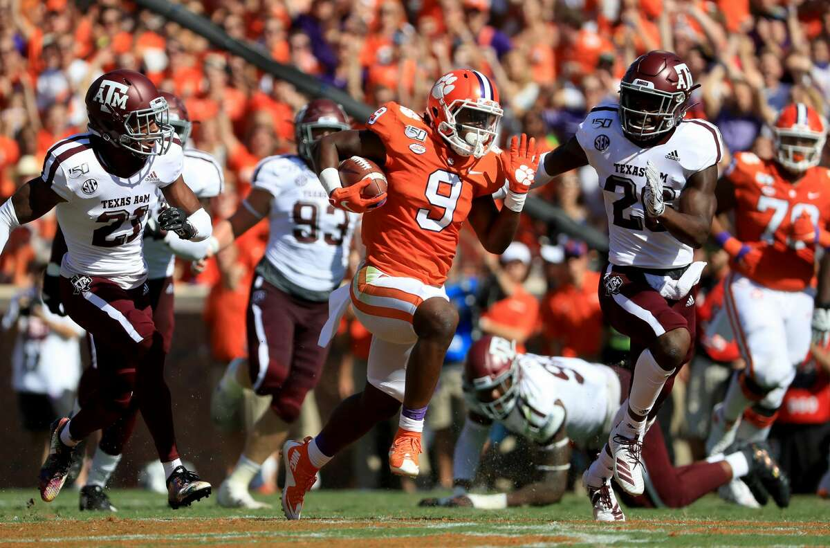 Clemson and Travis Etienne passed their biggest test against Texas A&M.
