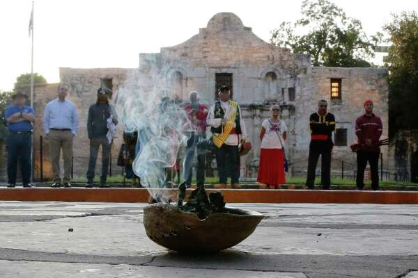 San Antonio Native American group hosts sunrise ceremony at