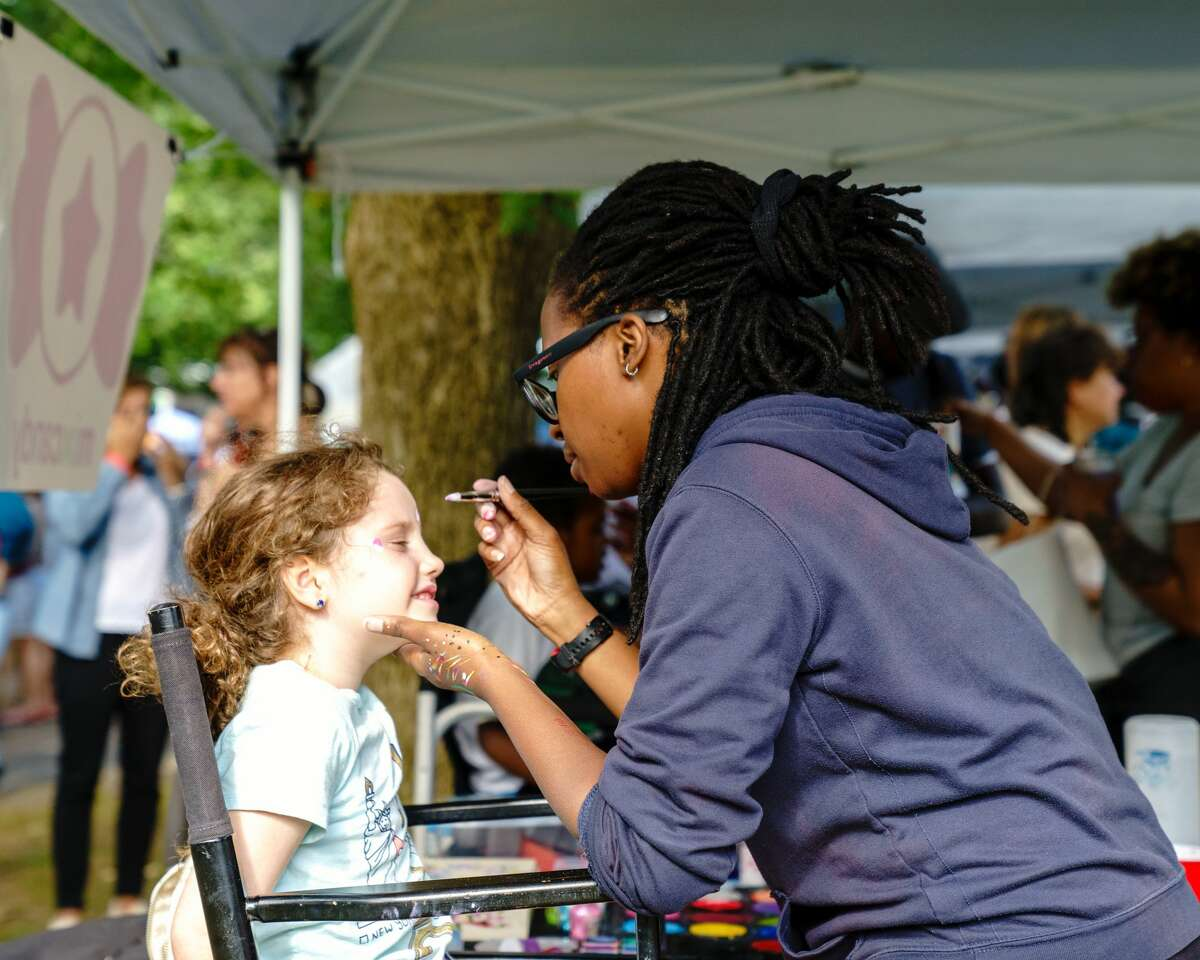The Connecticut Folk Festival & Green Expo is a one-day celebration held annually at Edgerton Park in New Haven.