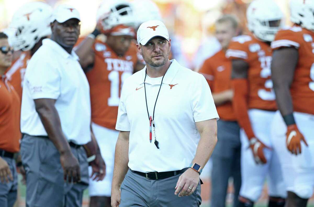 Before Tom Herman ended up in Austin, he was among the hottest coaches in the country for turning around Houston. Since taking over UT, he is 18-10 with two bowl victories.