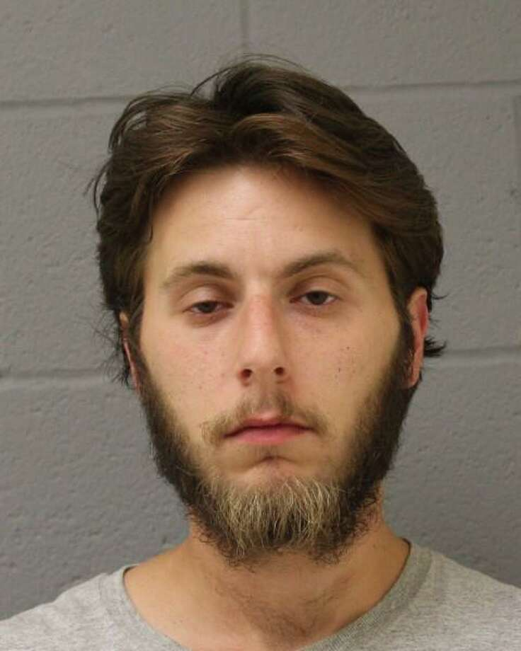 Cody Delmedico, 26, is accused of stealing $50,000 worth of artwork from a home in Newtown. Photo: Contributed Photo/Newtown Police Department / Contributed / The News-Times Contributed