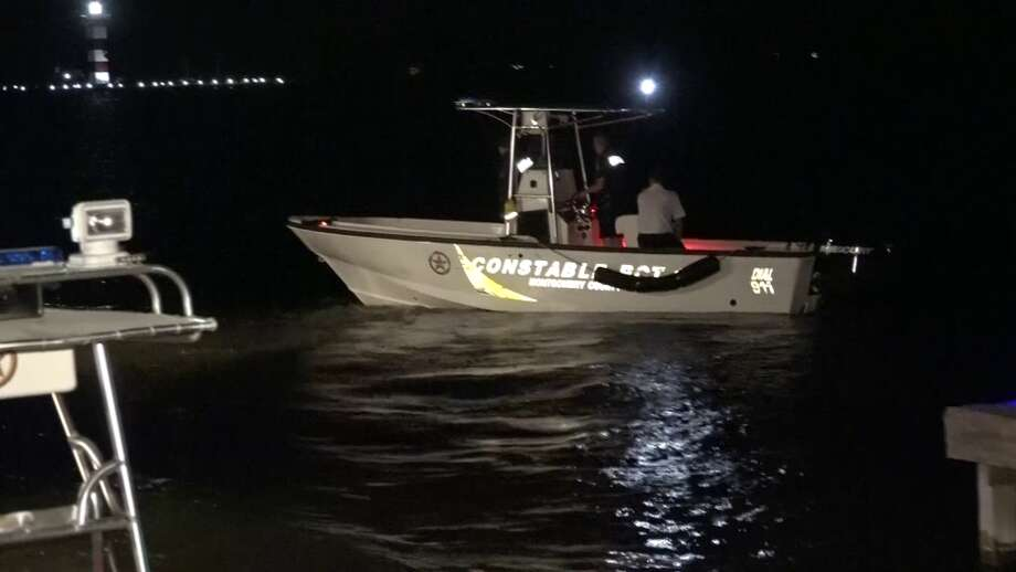 Over 80 passengers and crew members were rescued Saturday night from Lake Conroe after a paddle wheel boat ran aground, officials said. Photo: Scott Engle