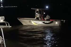Over 80 passengers and crew members were rescued Saturday night from Lake Conroe after a paddle wheel boat ran aground, officials said.