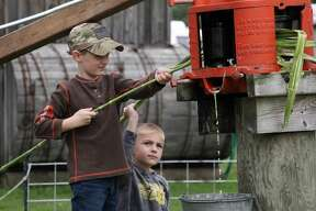 Thousands filled the grounds of the Thumb Octagon Barn over the weekend for the 24th annual Fall Family Days. The two-day event featured a number of live farming demonstrations, displays and look back at the Thumb's rich history.