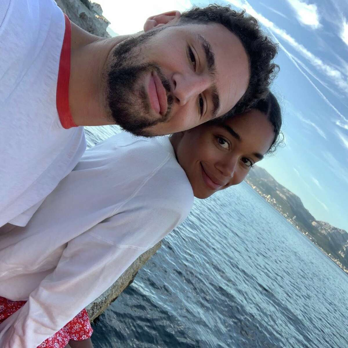 Klay Thompson took a tour of France with his girlfriend,
