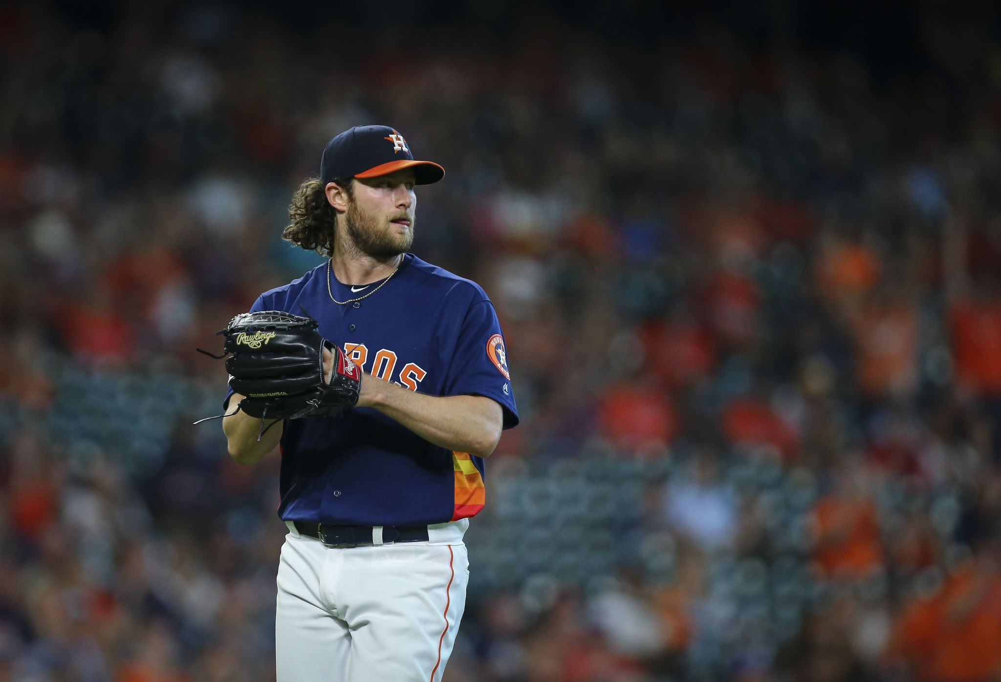 Managing down time not a concern with Astros' Gerrit Cole