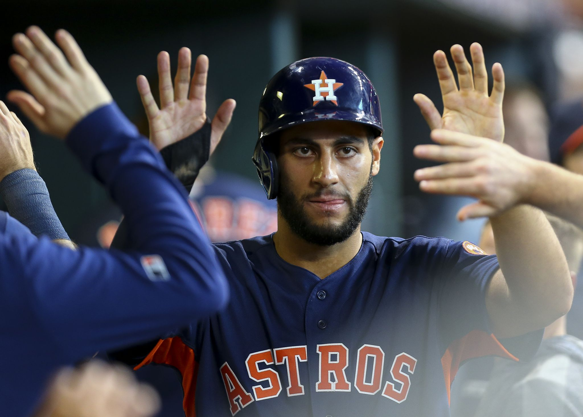 Astros honor prospects Abraham Toro, Cristian Javier