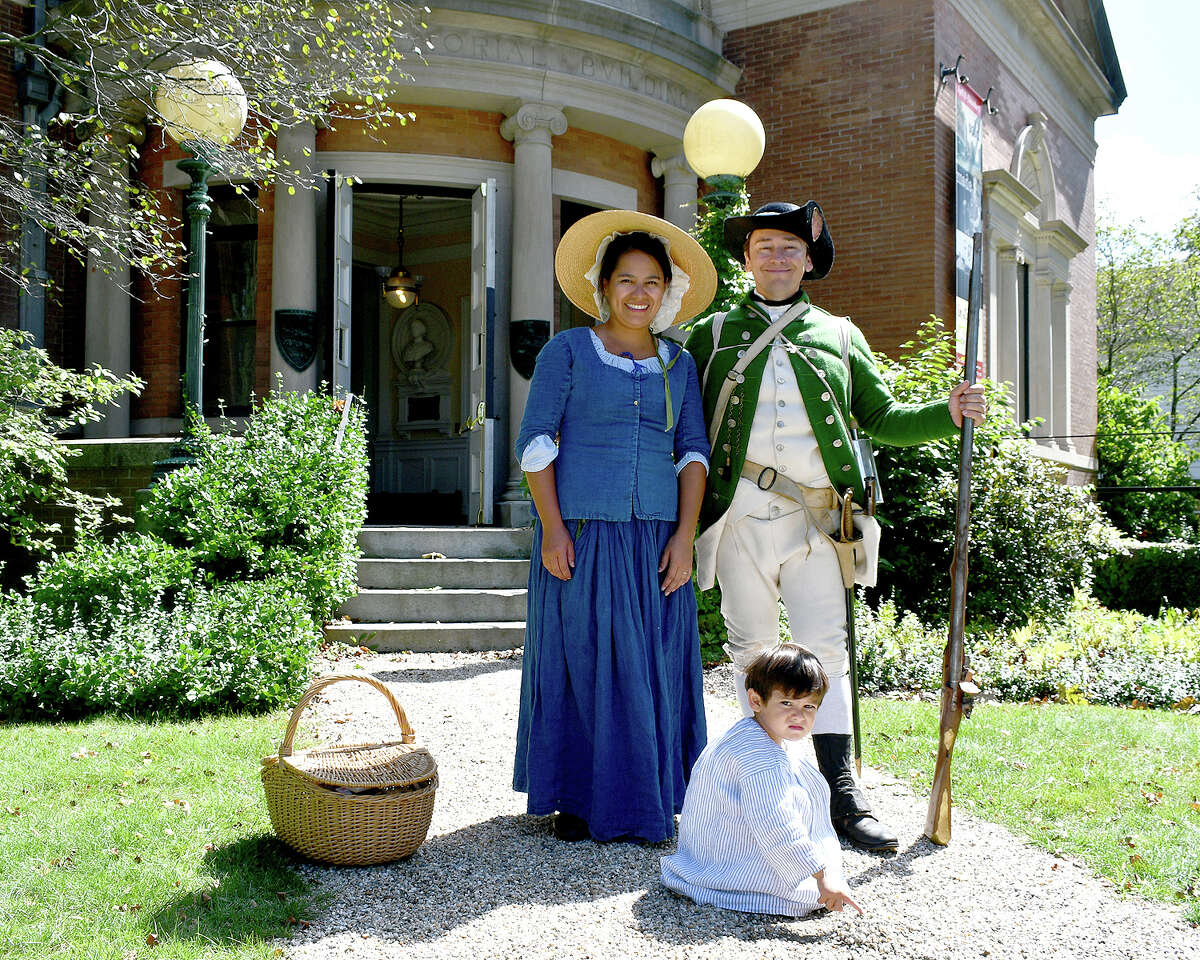 The Litchfield Historical Society held their Patriots Living History Day on Saturday September 7th, 2019.  The Museum held historical folk games, quill writing and Revolution-themed walking tours, while reenactors  and groups held demonstrations across The West Green. The Litchfield Lions also served food for attendees.